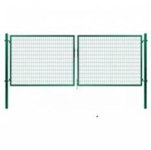 Dvojkrídlová brána Solid zelená Dvojkrídlová Solid | V: 195cm