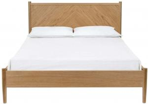 Dvojlôžková posteľ Woodman Farsta Angle, 140 × 200 cm