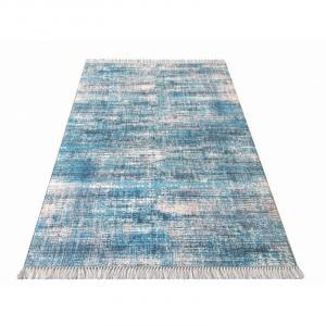 DY Koberec BLAK Blue 02 Rozmer: 100 x 60 cm