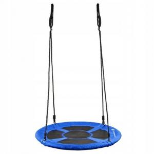 Eco Toys Hojdačka bocianie hniezdo modré