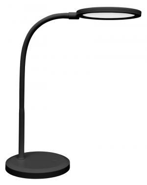 Ecolite, MATYS lampa stolná LED, 7W, čierna, stmievateľná
