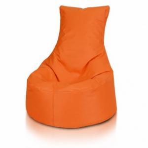 Ecopuf Detský MINI sedací vak ECOPUF - SEAT S - polyestér NC9 - Oranžová