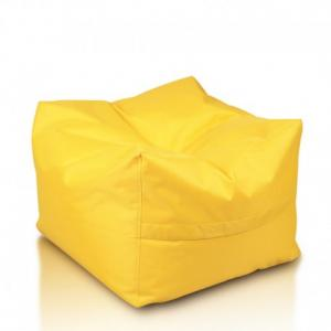 Ecopuf Sedací vak ECOPUF - CUBO - polyester NC4 - Žltá