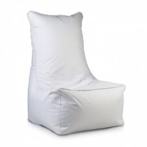 Ecopuf Sedací vak Ecopuf - ELEGANT polyester NC3 - Biela