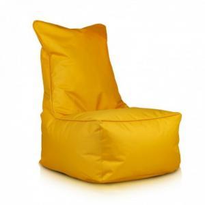 Ecopuf Sedací vak Ecopuf - ELEGANT polyester NC4 - Žltá