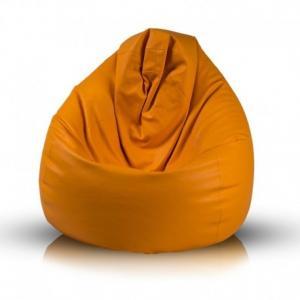 EF1039 Ecopuf Sedací vak Ecopuf - Fuzzy - ekokoža E4 - Oranžová