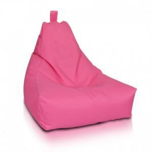 Ecopuf Sedací vak Ecopuf - KEIKO M polyester NC10 - Rúžová