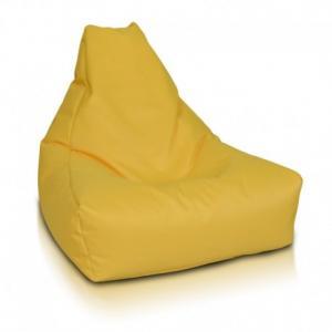 Ecopuf Sedací vak Ecopuf - KEIKO M polyester NC4 - Žltá
