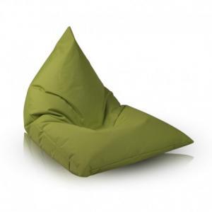 Ecopuf Sedací vak Ecopuf - Lazy L polyester NC1 - Svetlo zelená