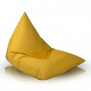 Ecopuf Sedací vak Ecopuf - LAZY M polyester NC4 - Žltá
