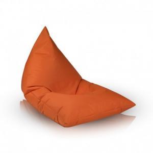 EF2041 Ecopuf Sedací vak Ecopuf - LAZY M polyester NC9 - Oranžová