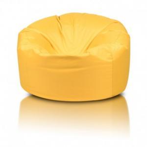 Ecopuf Sedací vak ECOPUF - MINI ISLAND polyester NC4 - Žltá