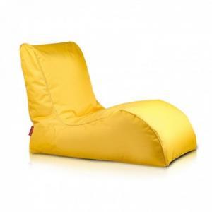 Ecopuf Sedací vak Ecopuf - NAOMI polyester NC4 - Žltá