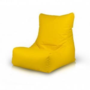 Ecopuf Sedací vak ECOPUF - SAKURA - ekokoža E18 - Žltá