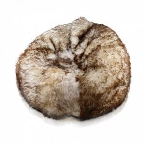 EF7001 Ecopuf Sedací vak ECOPUF - SAKWA - PREMIUM ovčia koža O8