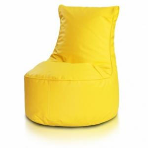Ecopuf Sedací vak ECOPUF - SEAT L - ekokoža E18 - Žltá