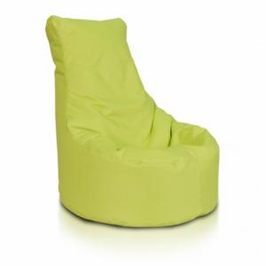 Ecopuf Sedací vak ECOPUF - SEAT L - polyester NC1 - Svetlo zelená