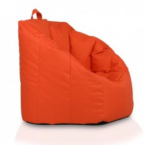 Ecopuf Sedací vak Ecopuf - Simone - polyester NC9 - Oranžová