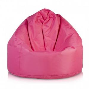 Ecopuf Sedací vak Ecopuf - VIPER polyester NC10 - Rúžová