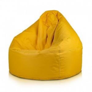 Ecopuf Sedací vak Ecopuf - VIPER polyester NC4 - Žltá