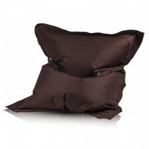 EF2037 Ecopuf Sedací vankúš ECOPUF - Pillow CLASSIC polyester NC15 - Tmavo hnedá