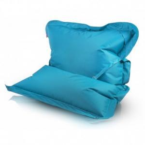 Ecopuf Sedací vankúš ECOPUF - Pillow CLASSIC polyester NC7 - Tyrkysová