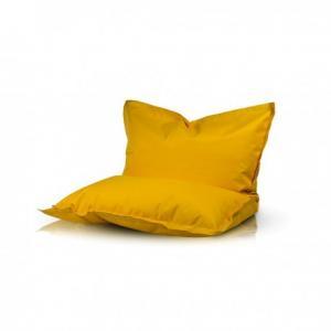Ecopuf Sedací vankúš Ecopuf - PILLOW KIDS polyester NC4 - Žltá