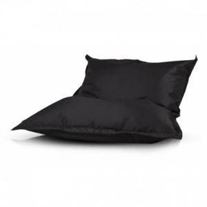 Ecopuf Sedací vankúš Ecopuf - Pillow L polyester NC14 - Čierna