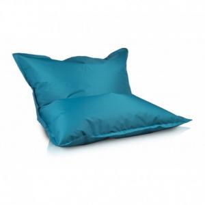 Ecopuf Sedací vankúš Ecopuf - Pillow L polyester NC7 - Tyrkysová