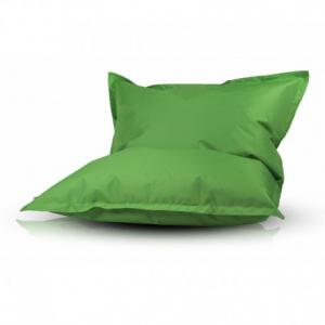 Ecopuf Sedací vankúš Ecopuf - PILLOW M polyester NC2 - Zelená
