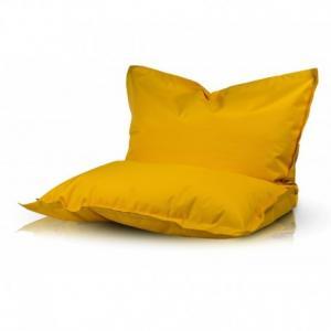 Ecopuf Sedací vankúš Ecopuf - PILLOW M polyester NC4 - Žltá