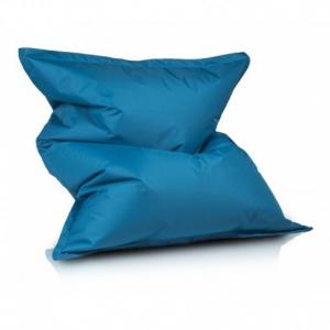 Ecopuf Sedací vankúš Ecopuf - PILLOW M polyester NC6 - Modrá
