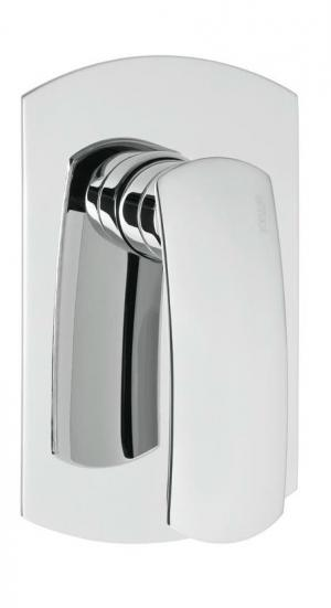 Effepi Flo 7189 podomietková sprchová batéria, 1 výstup, chróm
