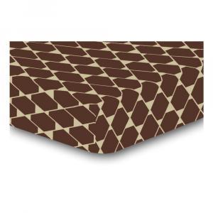 Elastická plachta z mikrovlákna DecoKing Rhombuses, 200×220 cm