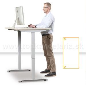Elektricky výškovo nastaviteľný stôl Motion3 - Podla výberu, Elektrický zdvih, 1400 mm, 705 - 1205 mm, 800 mm, základný ovládač