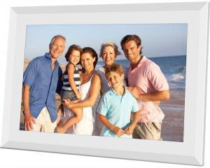 Elektronický fotorámček Sencor SDF 1091 biely + Doprava zadarmo