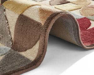 ELLE Decoration koberce Kusový koberec Creative 103966 Brown/Multicolor z kolekce Elle - 120x170 cm