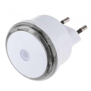 Emos LED nočné svetlo s fotosenzorom do zásuvky P3306