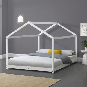 [en.casa] Detská posteľ AAKB-8761 120x200 cm biela