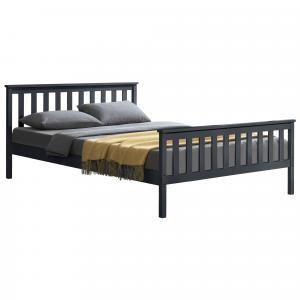 [en.casa] Manželská posteľ ABWB-2012 s roštom 140x200 cm