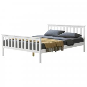 [en.casa] Manželská posteľ ABWB-2014 s roštom 180x200 cm