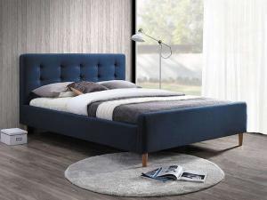 Eshopist Čalúnená posteľ PINKO 160 x 200 cm farba modrá