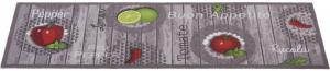 Esposa KOBEREC DO KUCHYNE, 45/100 cm, sivá, zelená, červená - sivá, zelená, červená