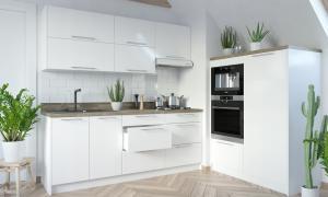 EXT Spodná kuchynská skrinka rohová, policová Platinum D6/30 FAREBNÉ PREVEDENIE KORPUSU: LAVA