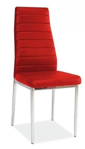 FALCO Jedálenská stolička H-261 červená