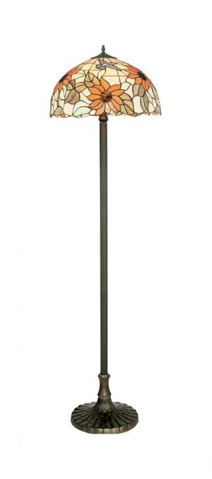 faneurope I-DAFNE-PT stojací lampa styl Tiffany
