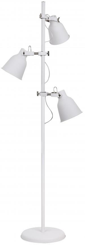 faneurope I-LEGEND-PT3 BCO stojací lampa 2xE27 kov v bílé barvě