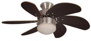 Fantasia 111573 - Stropný ventilátor ATLANTA 1xE14/60W/230V
