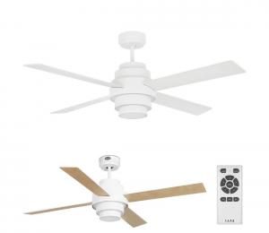FARO 33397 - LED Stropný ventilátor DISC FAN 2xLED/35W/230V biela