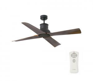 FARO 33481 - Stropný ventilátor WINCHE s diaľkovým ovládačom IP44